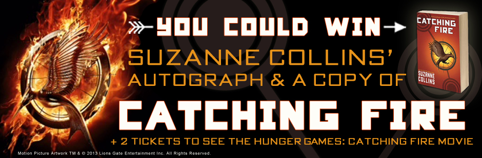 Catching Fire Giveaways