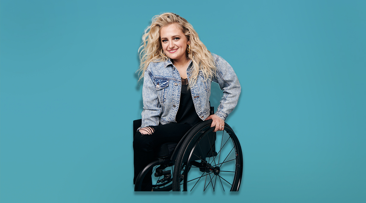 Actor Ali Stroker Soars With 'The Chance To Fly'