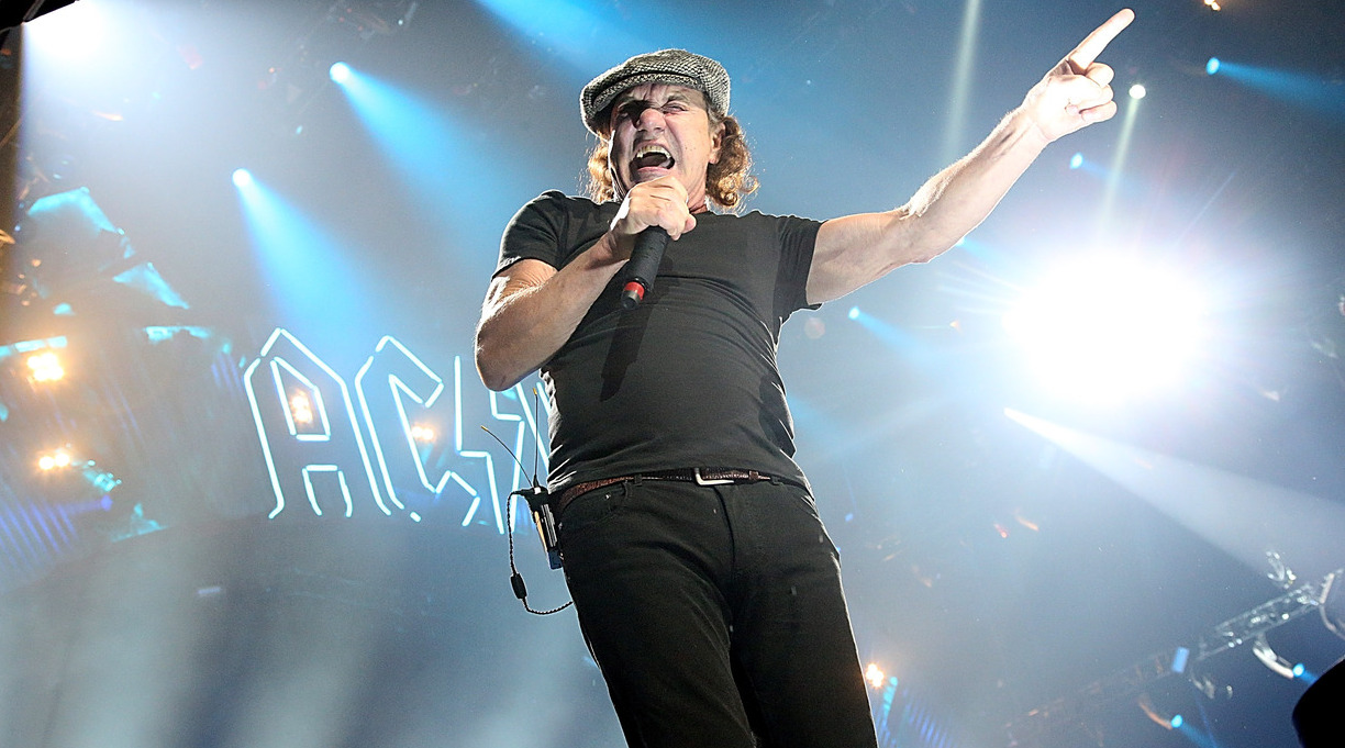 AC/DC's Brian Johnson To Publish a Memoir