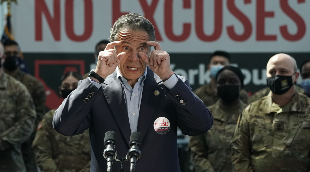 Andrew Cuomo Faces Inquiry Over Pandemic Book