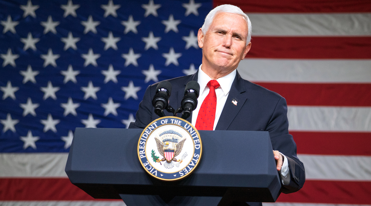 S&S Employees Protest Mike Pence Book Deal