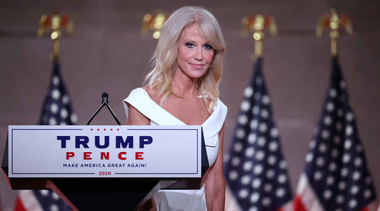 Report: S&S To Publish Kellyanne Conway Book