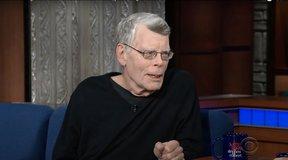 Stephen King Talks New Novel With Stephen Colbert