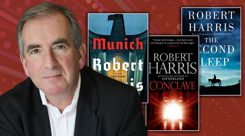 Robert Harris Writes Thrillers—Even When He Doesn't
