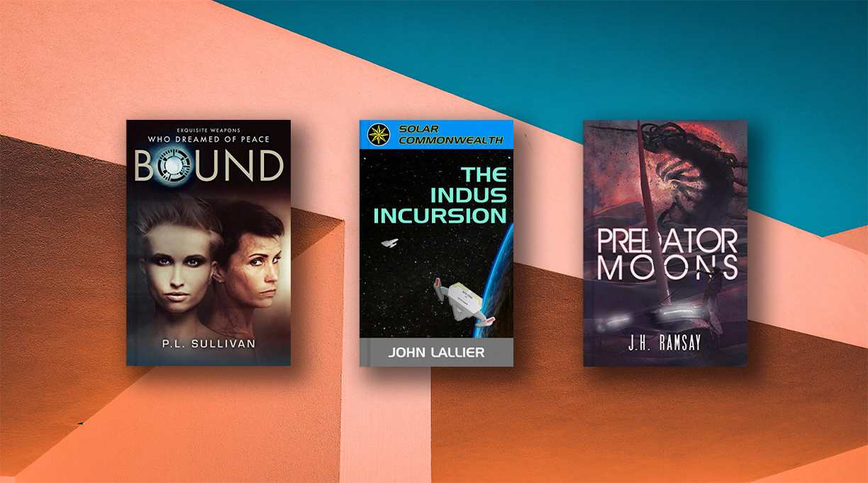 3 Indie Novels for Science Fiction Adventurers
