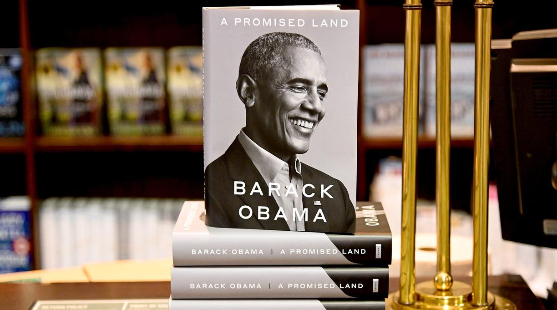 Obama Memoir Was Bestselling Print Book of 2020