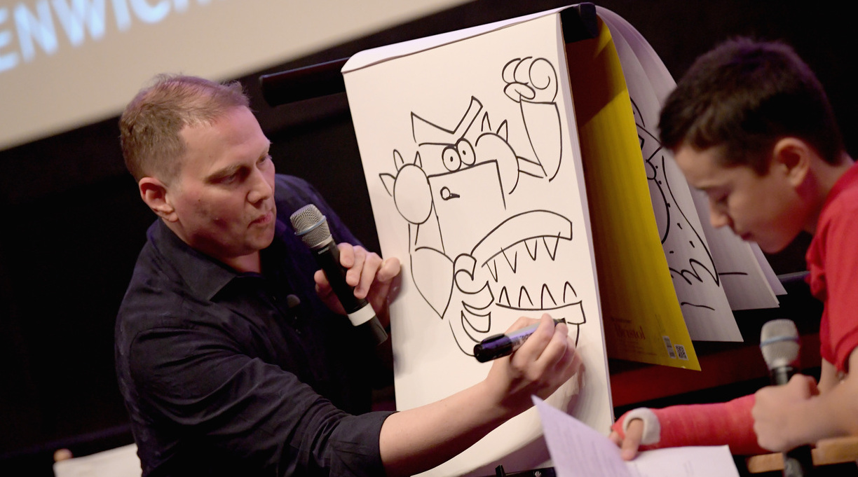 Dav Pilkey To Judge Google Doodle Contest
