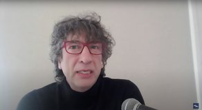 Neil Gaiman Talks Quarantine With Seth Meyers