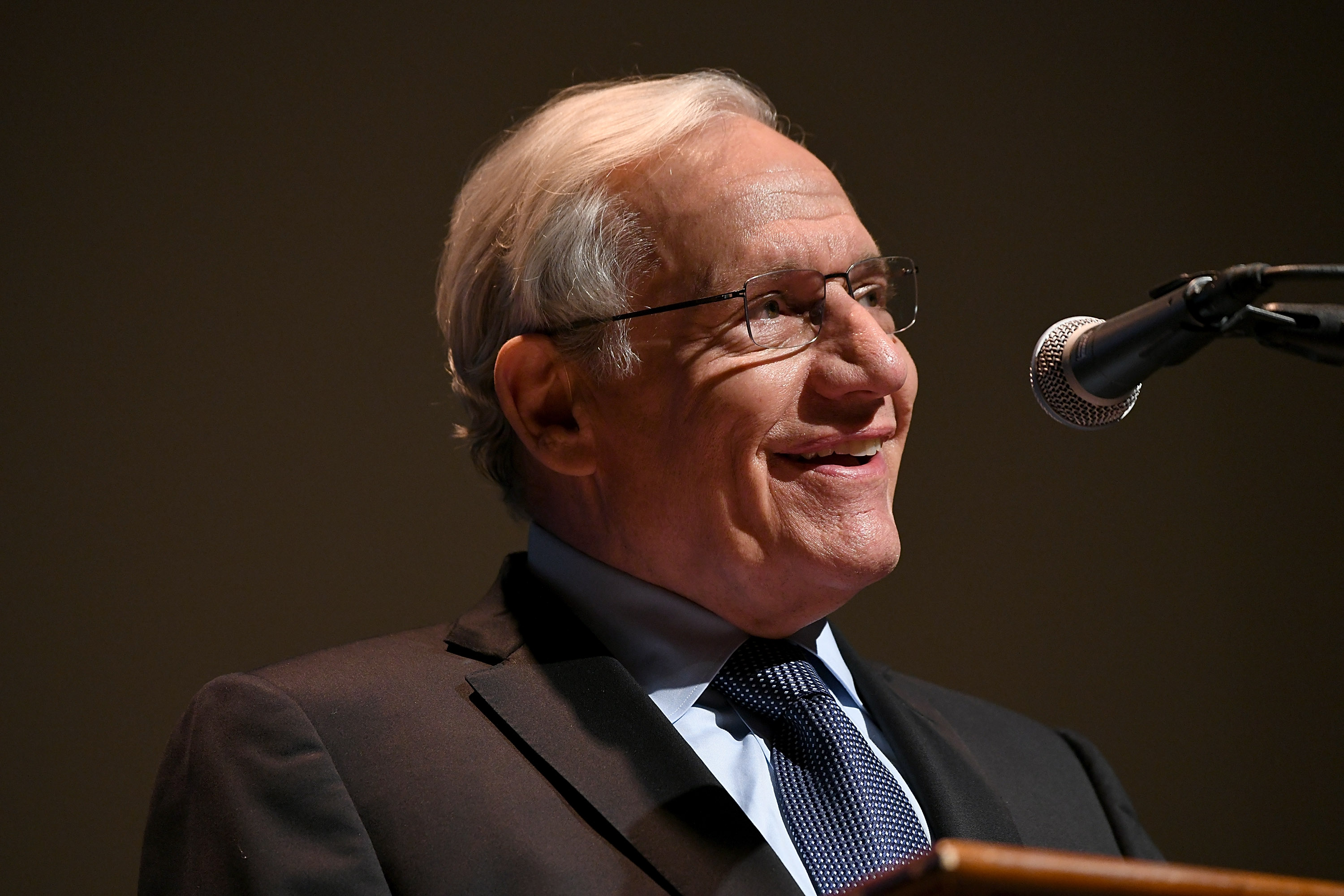 Bob Woodward Writing Follow-Up to Hit Book Fear
