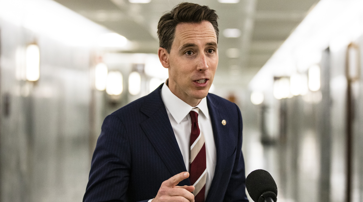 Regnery Will Pick Up Canceled Josh Hawley Book