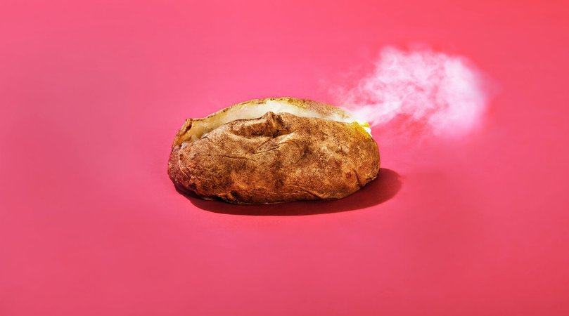 Library Mystified by Baked Potatoes Left on Lawn