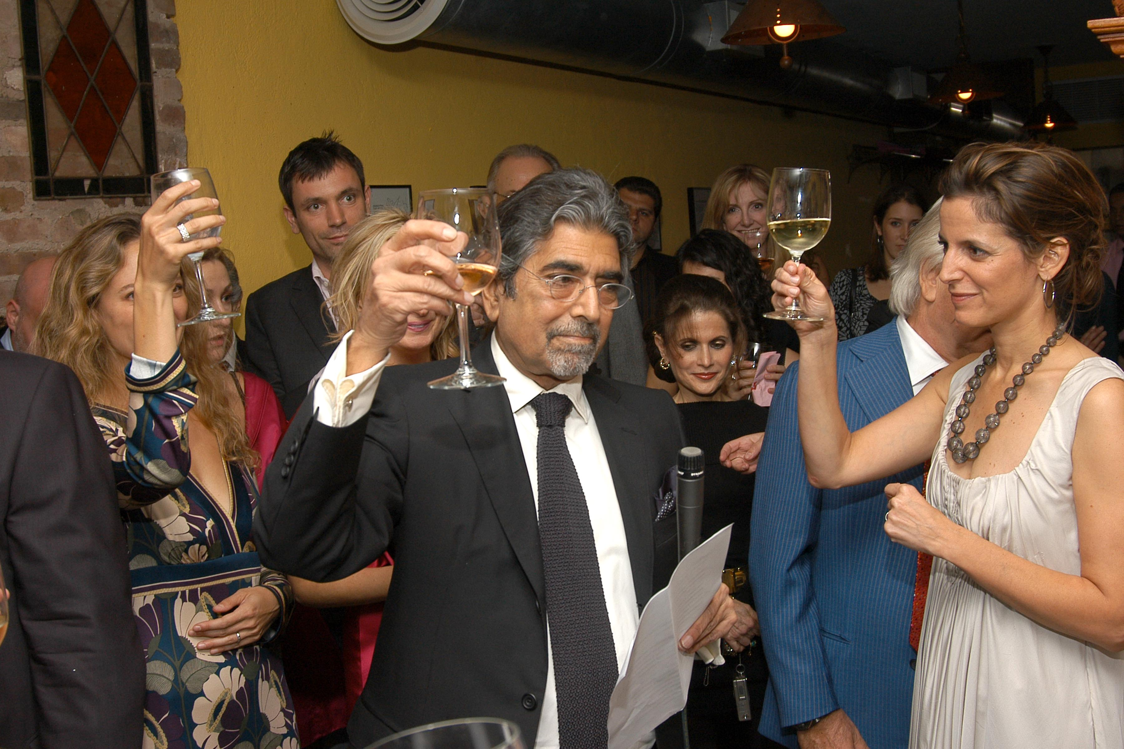 Writers Pay Tribute to Knopf Editor-in-Chief Sonny Mehta