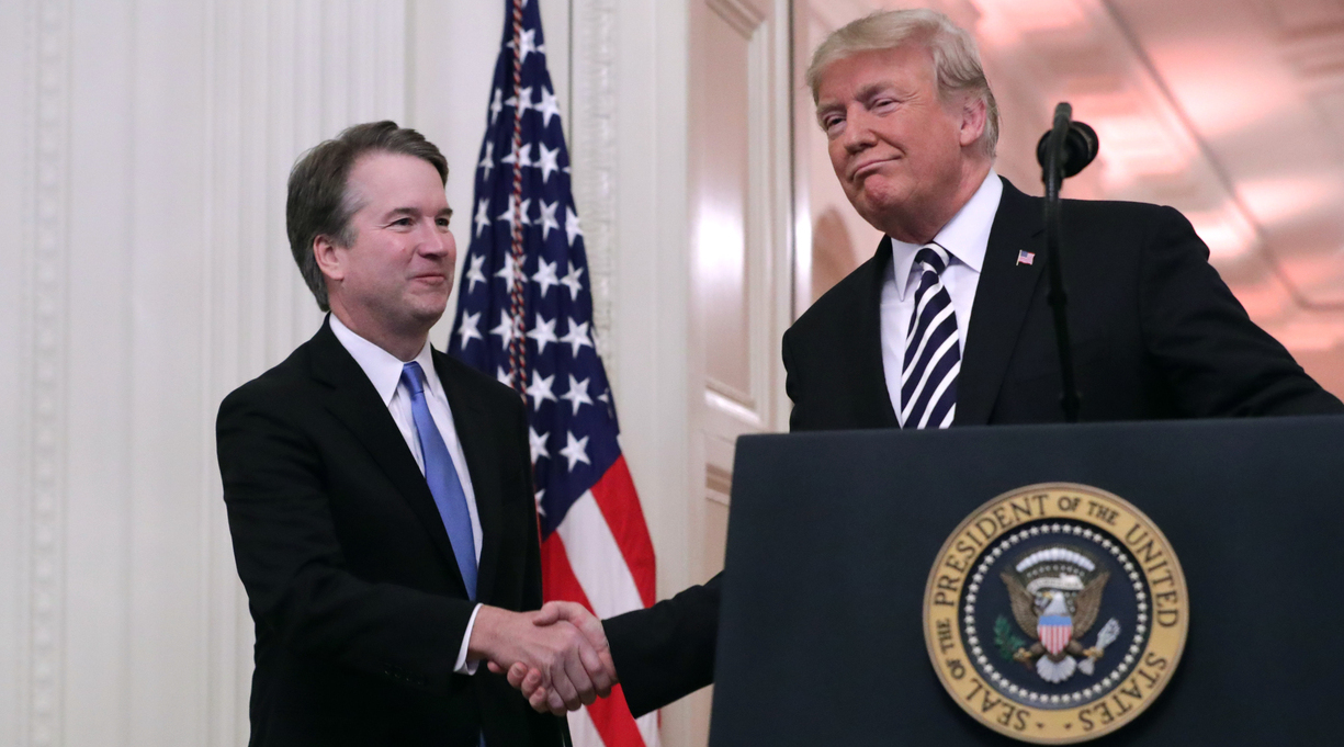 Book: Trump 'Very Disappointed' by Brett Kavanaugh