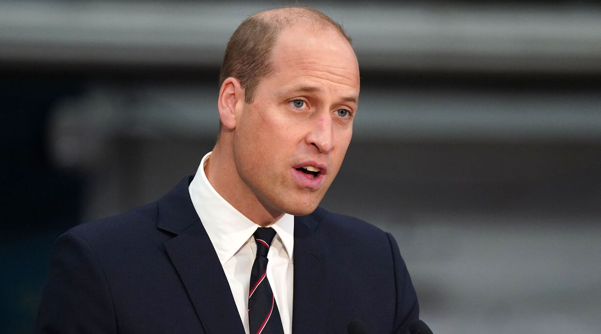 Prince William Writing Intro to Earthshot Book