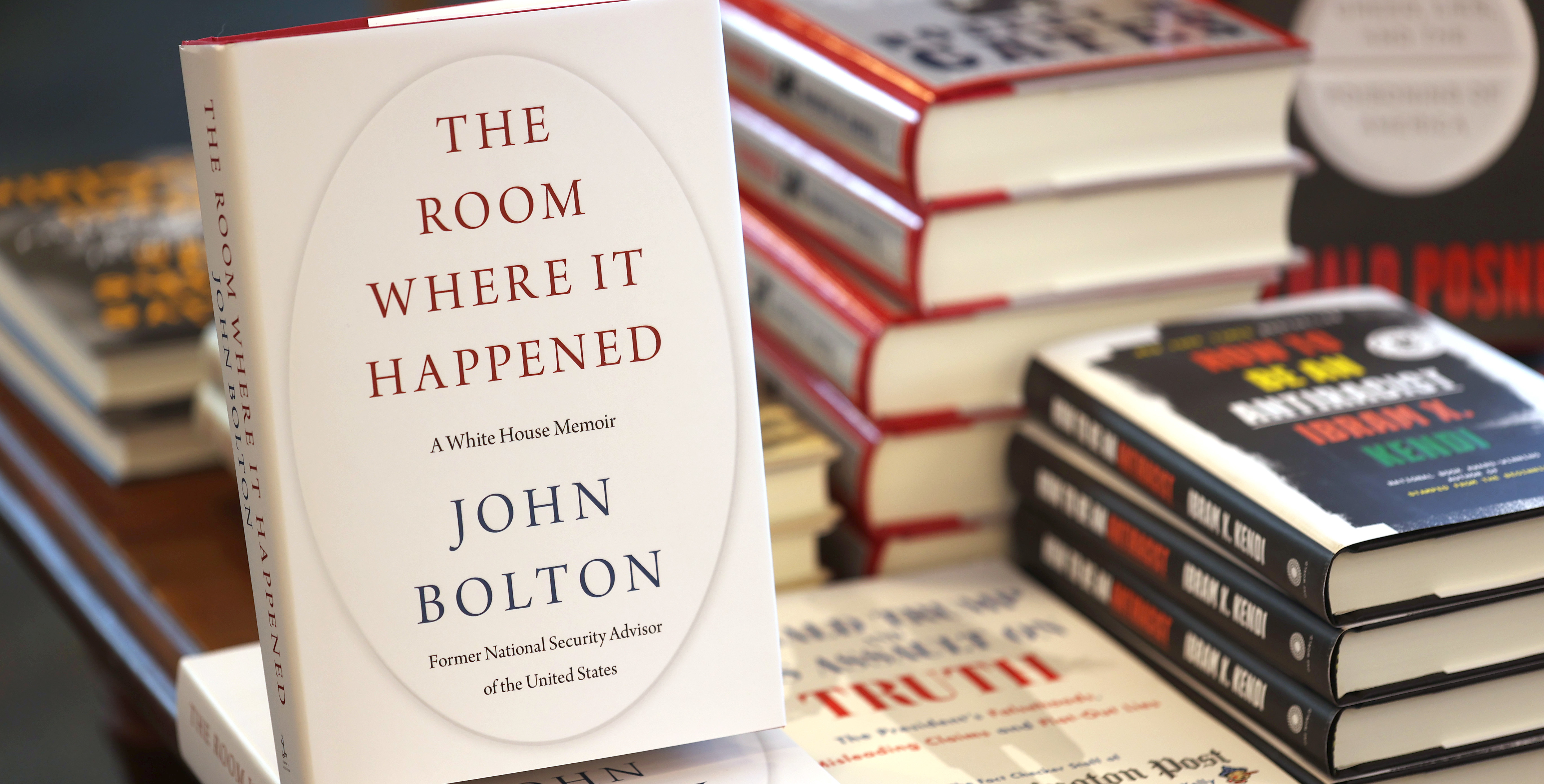 John Bolton's Book Is a Massive Bestseller