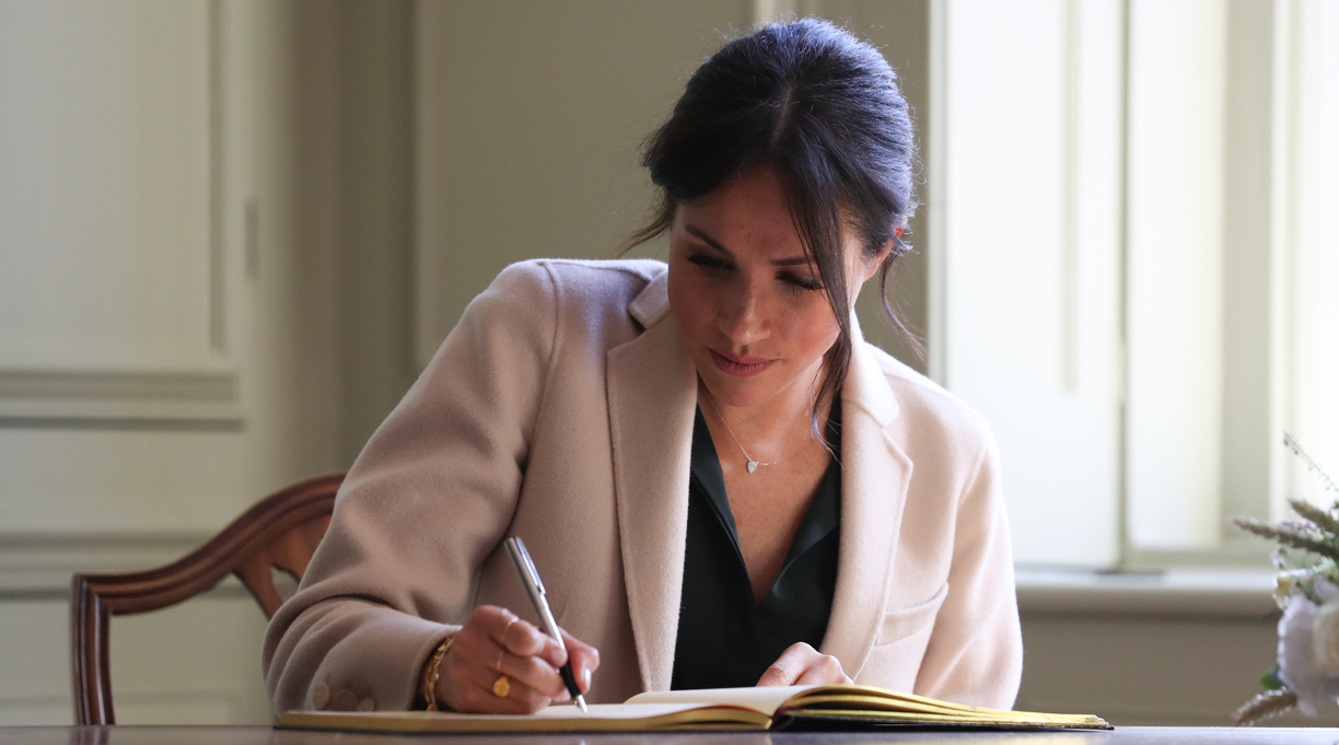 Meghan, Duchess of Sussex, Talks New Book With NPR