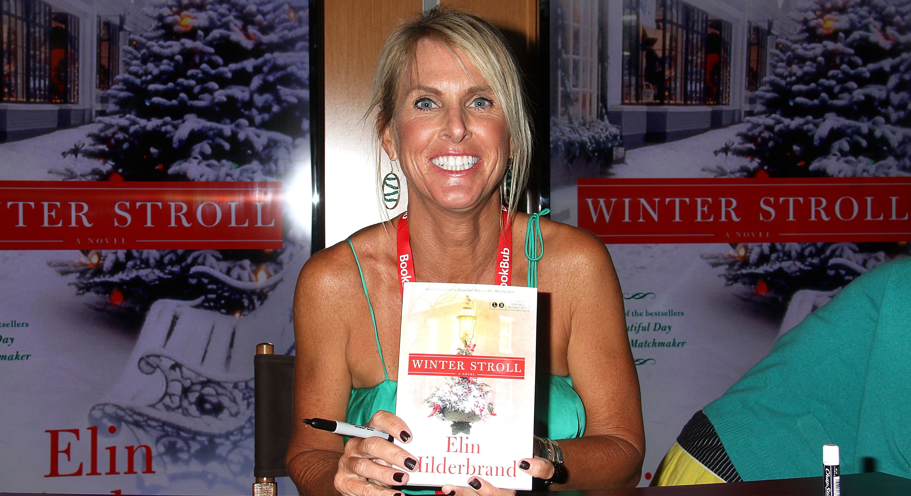 Elin Hilderbrand Holding In-Store Book Signings