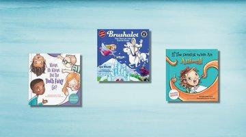 3本关于照顾牙齿的独立儿童书籍