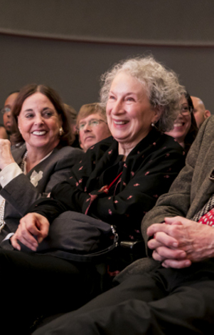 Margaret Atwood Gets Her Close-Up (Again)