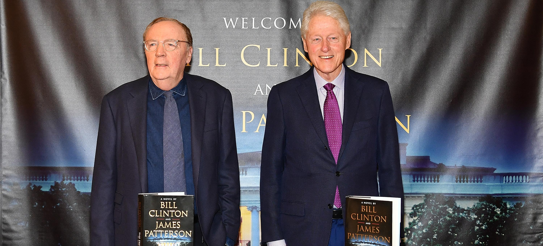 Bill Clinton, James Patterson Writing Second Novel