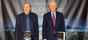 Bill Clinton, James Patterson Writing Second Novel