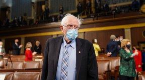 Book Details Bernie Sanders' Travel Demands