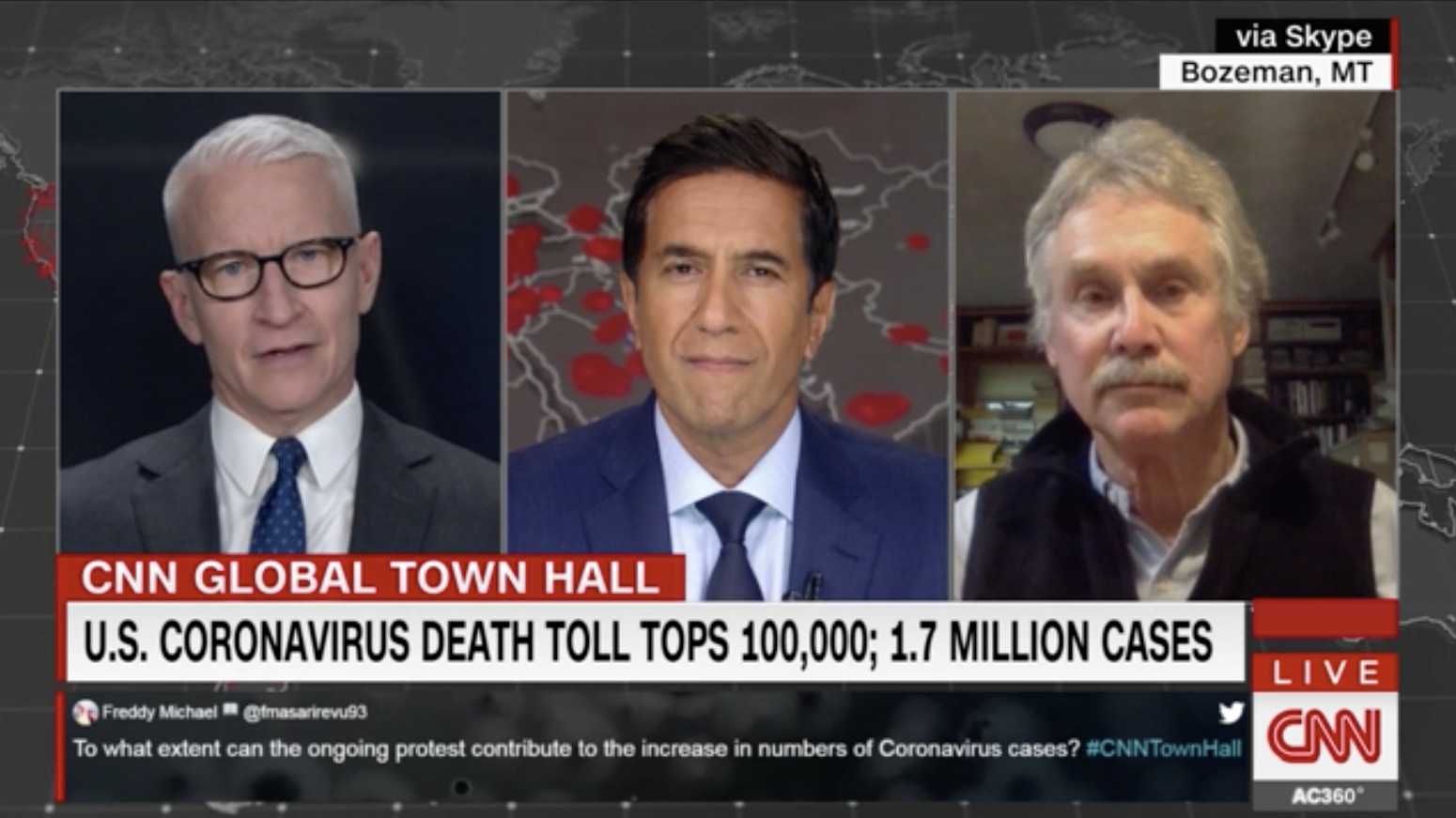 Author Tells CNN That COVID-19 Was Predictable