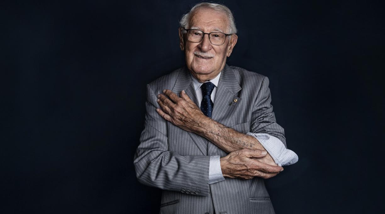 Holocaust Survivor Eddie Jaku Dies at 101