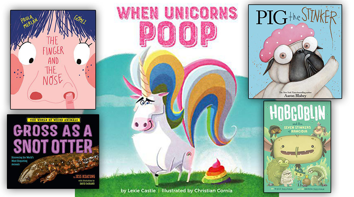 In Praise of Gross Books for Kids