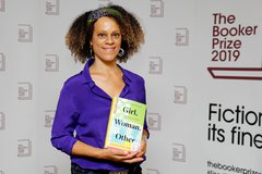 Bernardine Evaristo Shares Booker Prize with Atwood