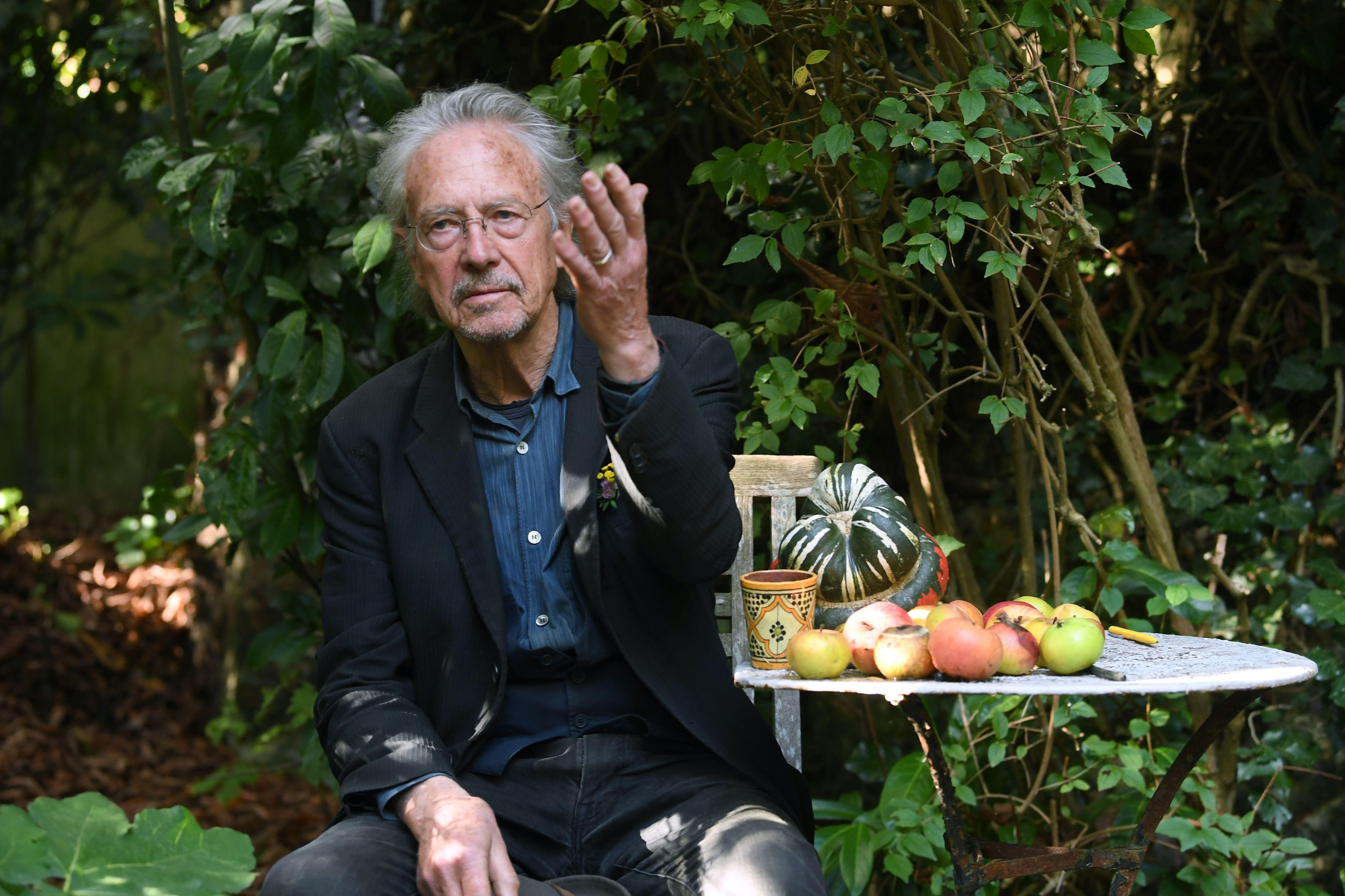 Nobel Prize Laureate Handke Lambastes Press