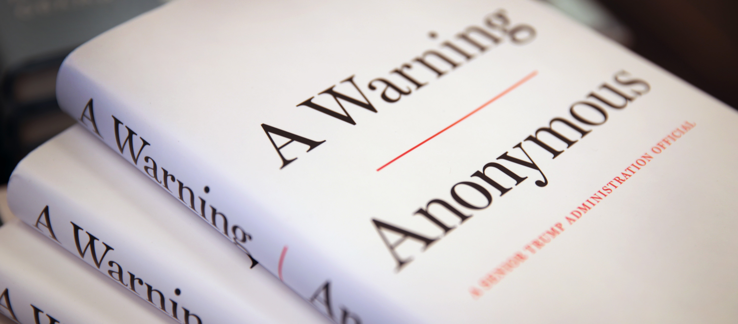 Anonymous Author of A Warning Is Revealed