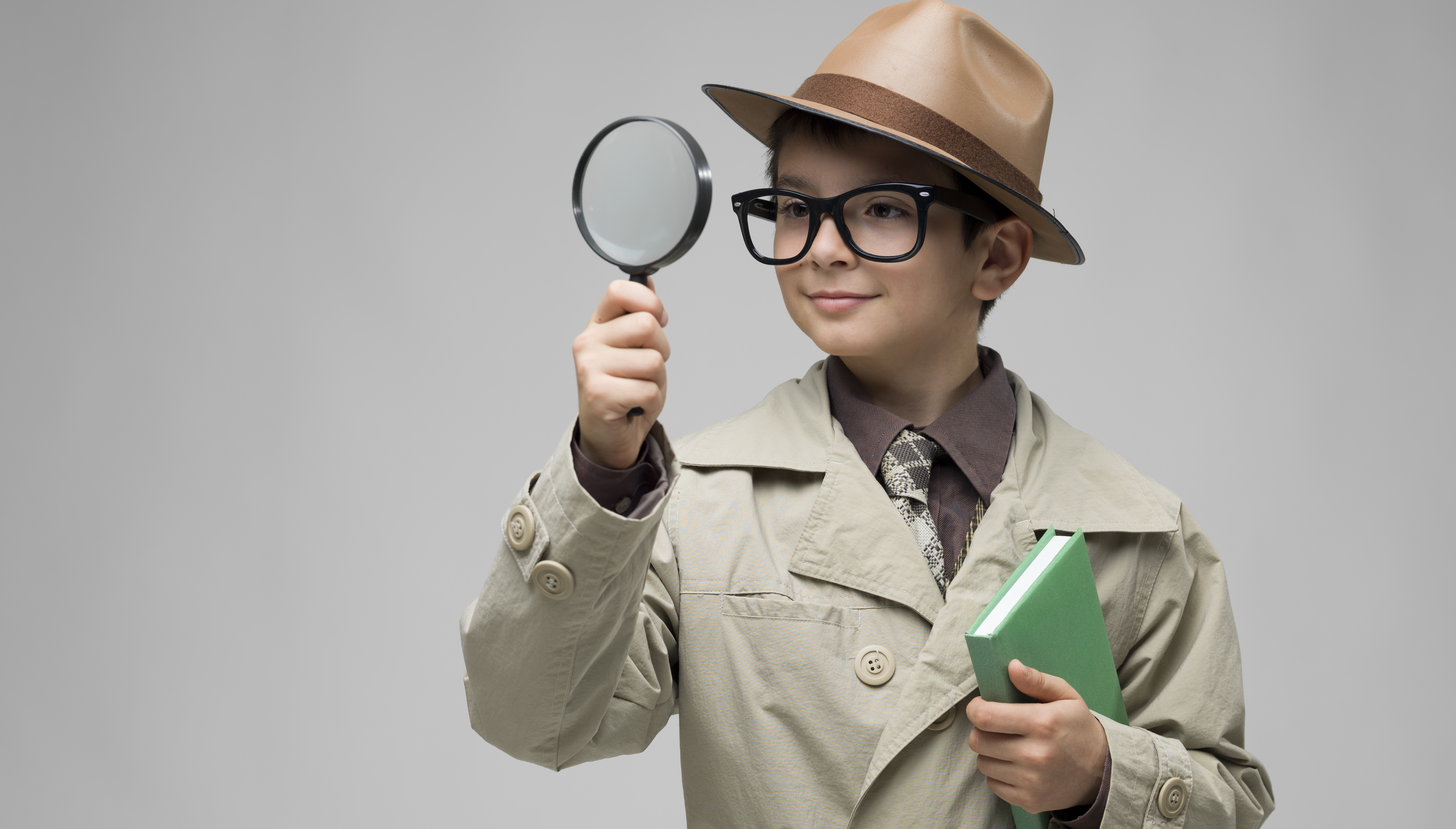 When the Detective Is a Kid