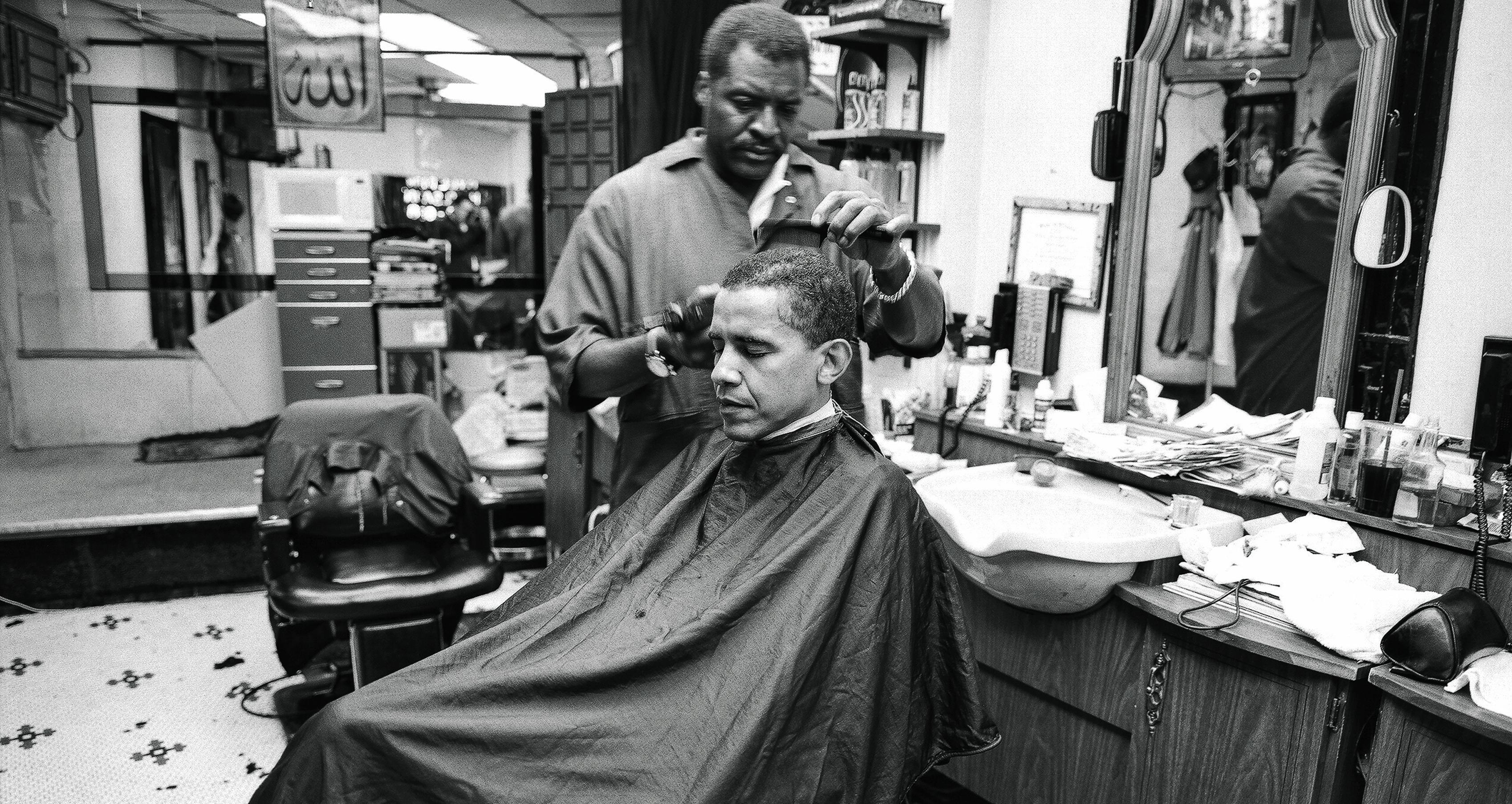Barack Obama in the Viewfinder