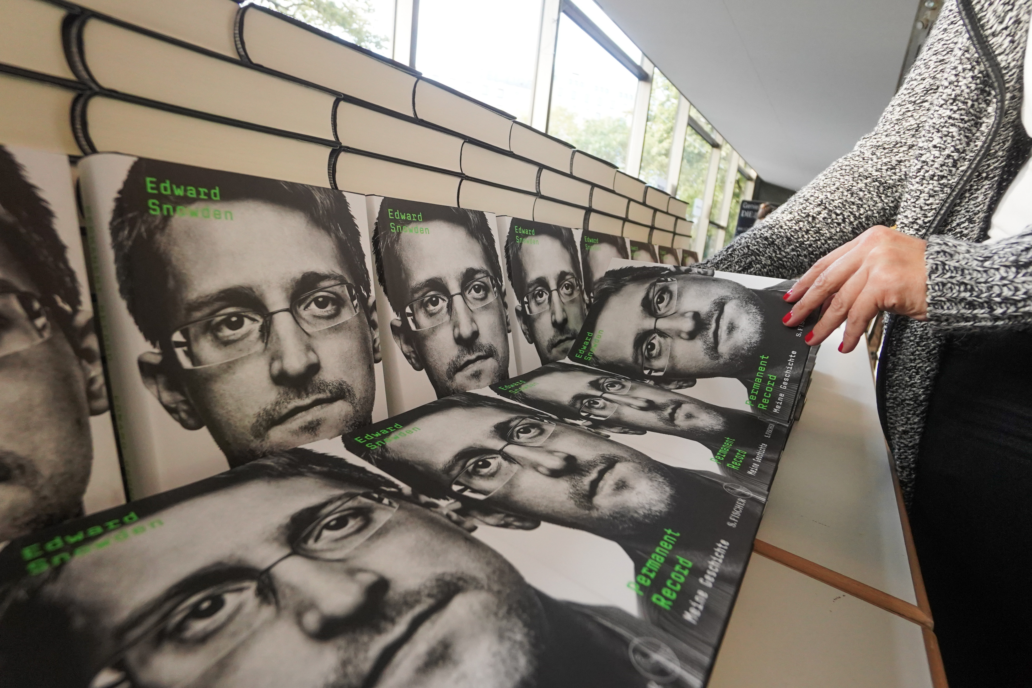 Snowden Sued by Justice Department Over Memoir