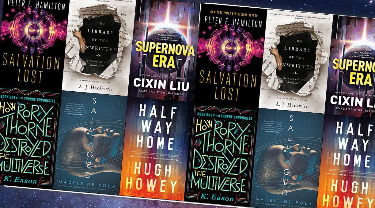 The 7 Best Science Fiction & Fantasy Books to Read This October