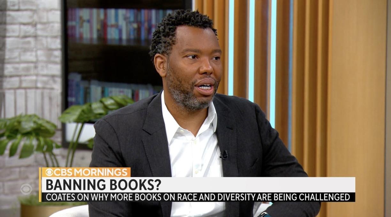 Coates Talks Banned Books on 'CBS Mornings'