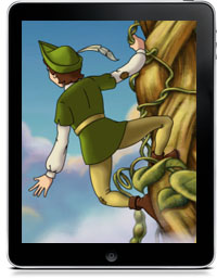 JACK AND THE BEANSTALK CHILDREN'S INTERACTIVE STORYBOOK by Ayars Animation