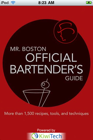 MR. BOSTON OFFICIAL MOBILE BARTENDER'S GUIDE by Anthony Giglio