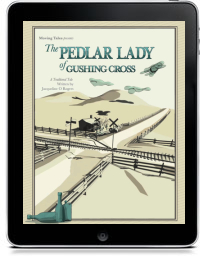 THE PEDLAR LADY OF GUSHING CROSS by Jacqueline O. Rogers