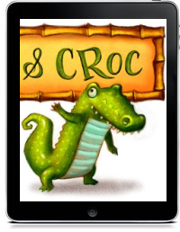 MONKEY AND CROC by Will Terry