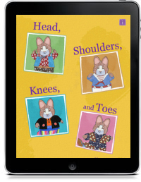 HEAD, SHOULDERS, KNEES, AND TOES by Rosemary Wells