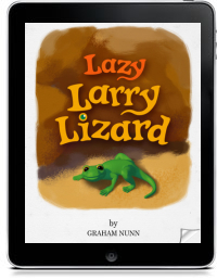 Cover art for LAZY LARRY LIZARD