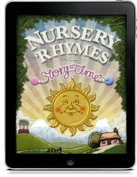 Cover art for NURSERY RHYMES WITH STORYTIME