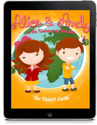 ALICE & ANDY IN THE UNIVERSE OF WONDERS by Mariana Barrosa