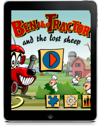 BEN THE TRACTOR AND THE LOST SHEEP by ZigZag Studio