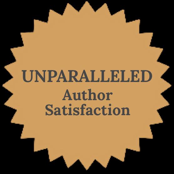 Unparalleled Author Satisfaction