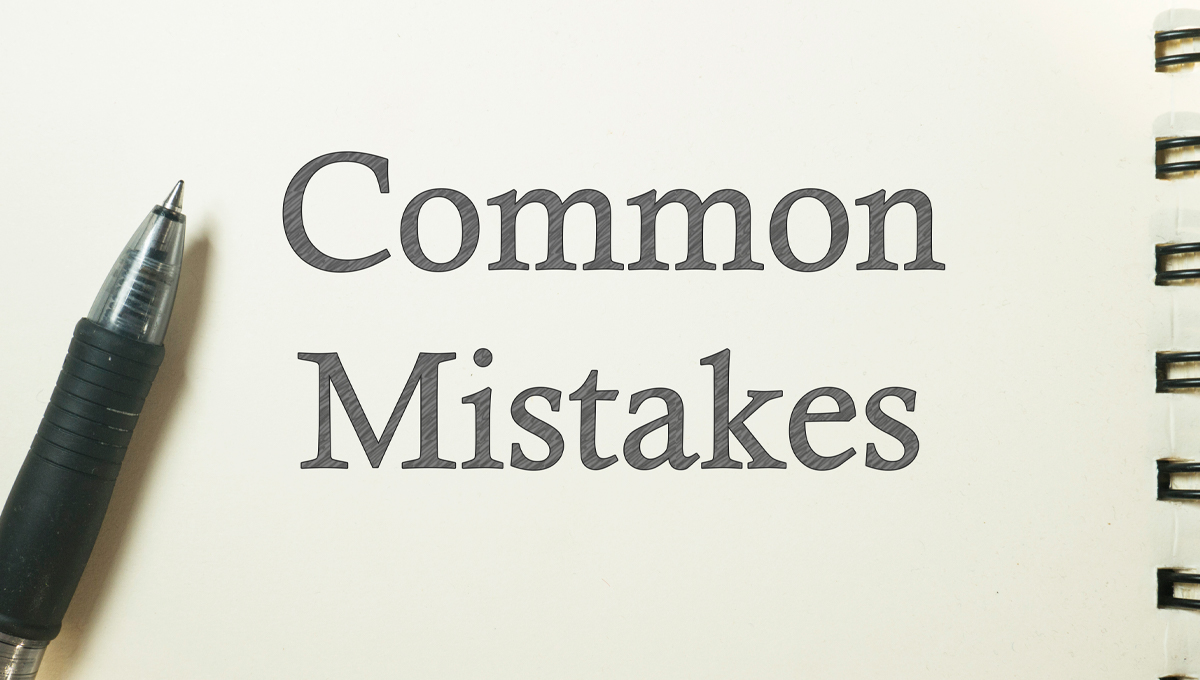 5 Mistakes Authors Make While Editing Their Own Work